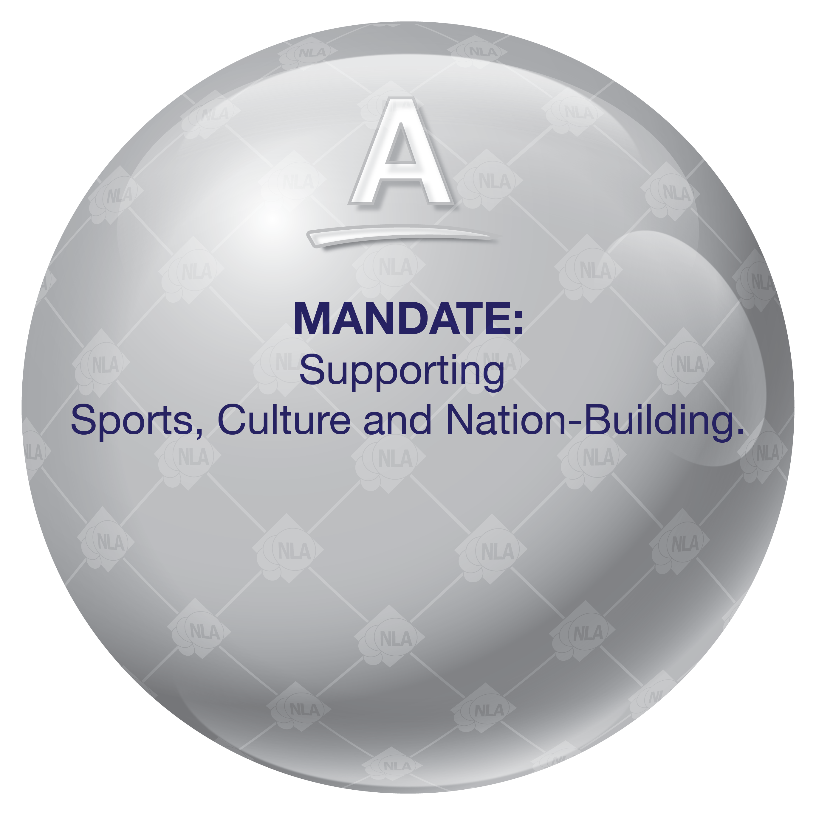 NLA GDA 2017 SITE RELOCATION 36x36 COMPANY STATEMENT 3D BALLS -03 - MANDATE
